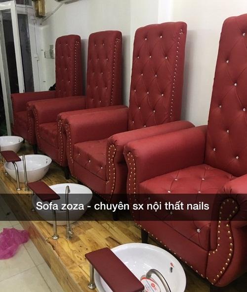 ghế nails rẻ nhất HCM hiện nay