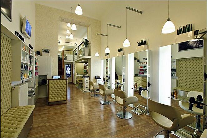 thiết kế nội thất tiệm làm tóc