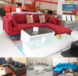 Sofa giá rẻ cho phòng khách nhỏ ở Sài Gòn