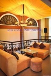 Thiết kế ghế sofa cafe cho quán thật đẹp và hiện đại tại Tân Phú HCM