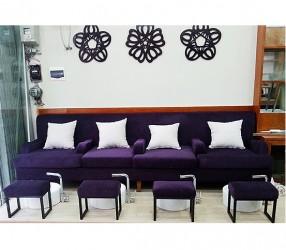 Ghế sofa cho tiệm Nail giá rẻ tại TPHCM