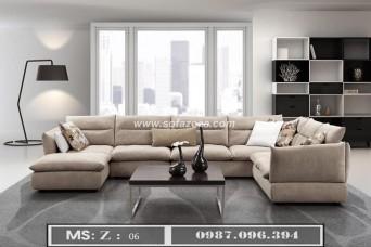 Nhà đẹp với sofa phòng khách