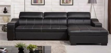 Sofa cao cấp đen sang trọng