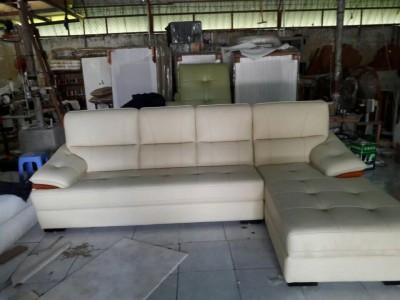 Sofa cao cấp trắng xinh
