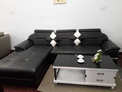 sofa cao cấp màu đen sang trọng