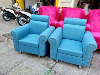 Ghế nail xanh biển đẹp 1245