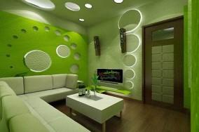 Sofa Karaoke màu xanh