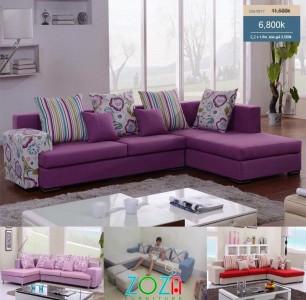 Sofa phòng khách giá rẻ mới nhất