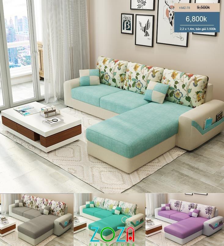 Sofa Góc L giá rẻ