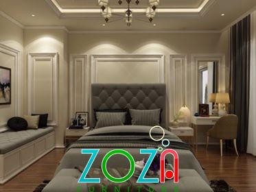 Giường Sofa tân cổ điển