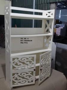 Tủ giày kết hợp - 04