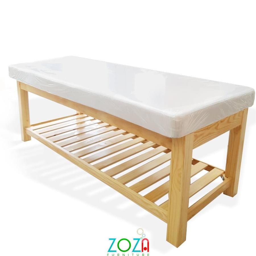 Giường masage khung gỗ