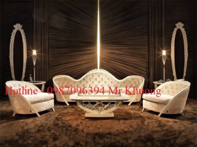 sofa tân cổ điển mẫu 21