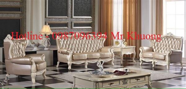 sofa tân cổ điển mẫu 20