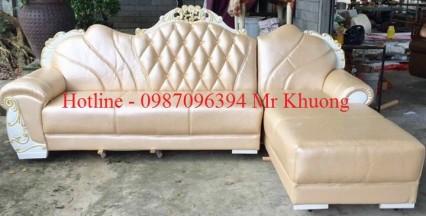 sofa tân cổ điển mẫu 25