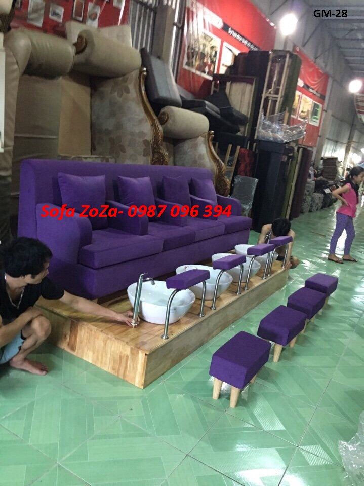 Sofa băng làm nail 028